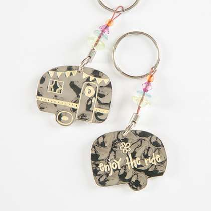 Key Ring - Enjoy the Ride - Natural Life - Sole Sister Shoes