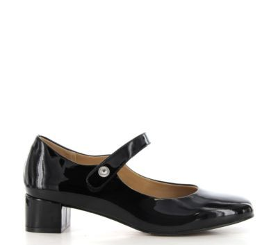 Ziera - Kitty - Black Patent Leather Heels