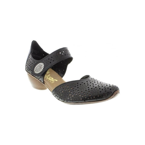 Rieker Shoes - 43711-00 Black