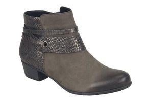 Rieker Remonte - D3575 - Grey Combination Boot