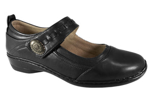 Comfort Leisure - Robina - Black - Sole Sister Shoes