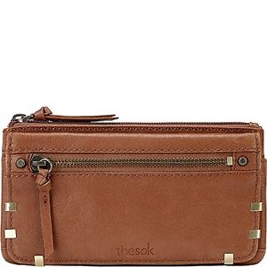 Sakroots - Sanibel Leather Flap Wallet - Tobacco Staples