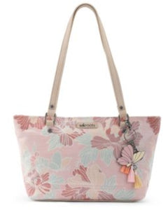 Sakroots Small Satchel - Pink Flower