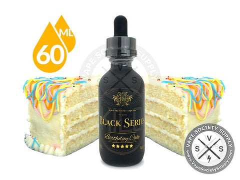 Birthday Cake Ejuice by Kilo Black Series 60ml