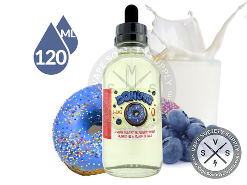 Blueberry Donuts by Donuts E-Juice 120ml