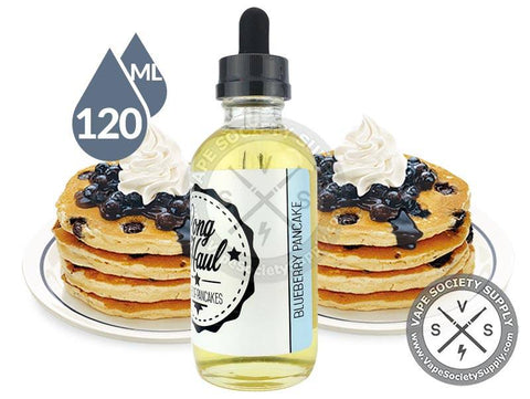 Blueberry Pancakes by Long Haul 120ml