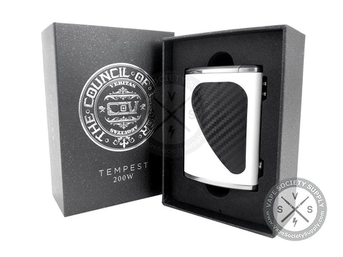 Council of Vapor Tempest 200W TC Box Mod