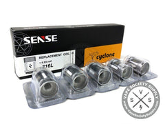 Cyclone Replacement Coil Heads by Sense