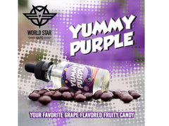 Yummy Purple by WORLD STAR VAPE 30 ml