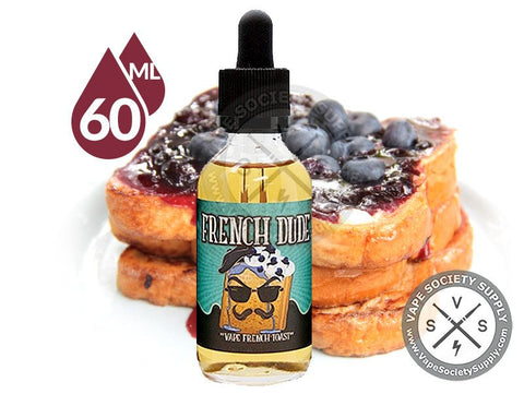 French Dude Ejuice by Vape Breakfast Classics 60ML