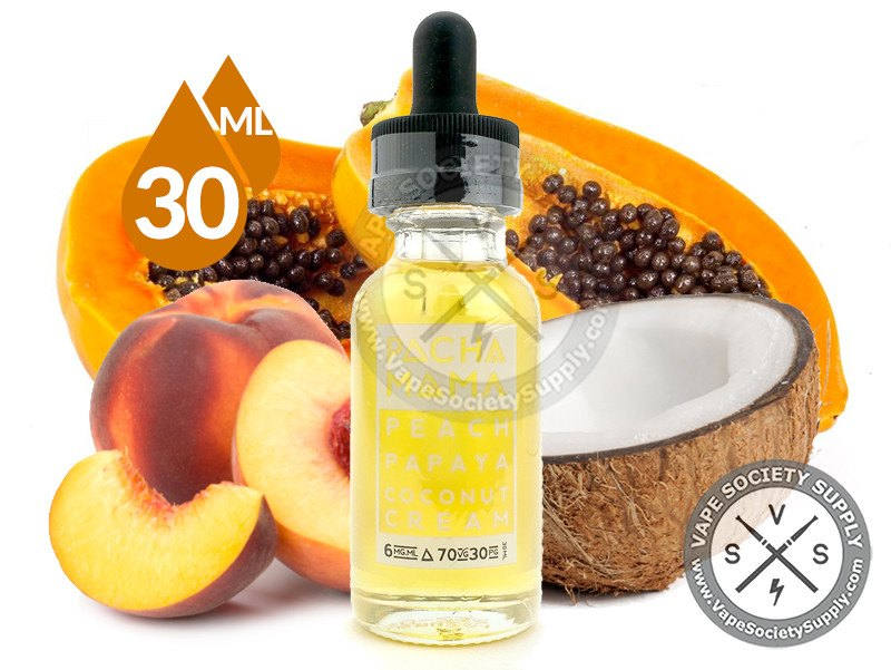Peach Papaya Coconut Cream Ejuice by PACHAMAMA 30ml