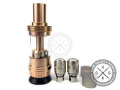 Rose Gold Crown Sub Ohm Tank by Uwell