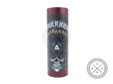 Skull Chief Sleeve Red