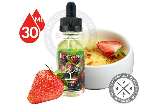 Strawberry Creme Brulee by Ripe Vapes 30ml