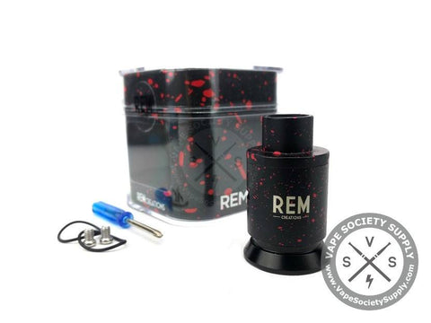 Black and red REM RDA