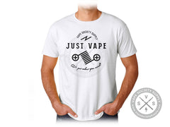 VSS Just Vape T-Shirt - White