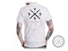 "VSS ""Two Tanks One Coil"" T-Shirt - White"