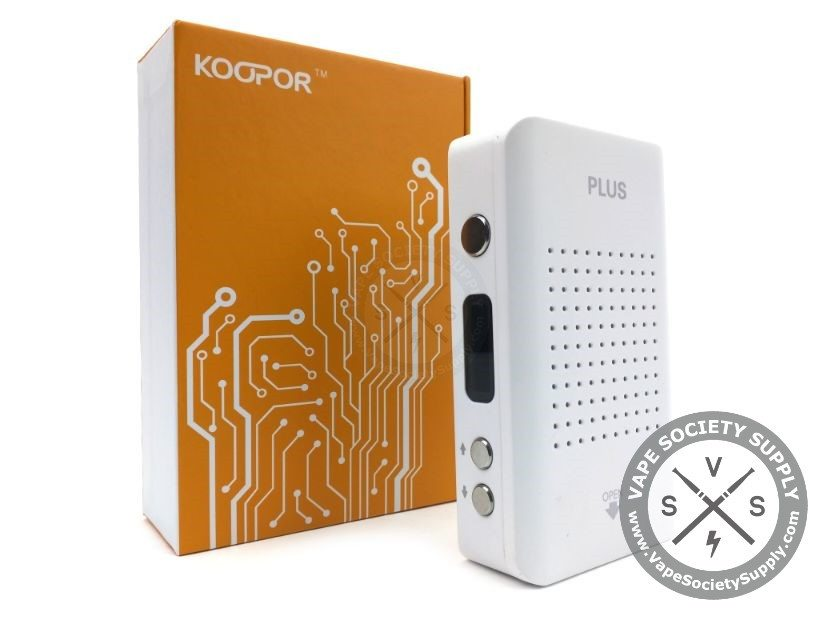 White Koopor Plus 200W TC Box Mod by SMOK