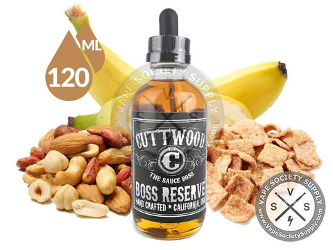 Boss Reserve by Cuttwood 120 ML Bottle