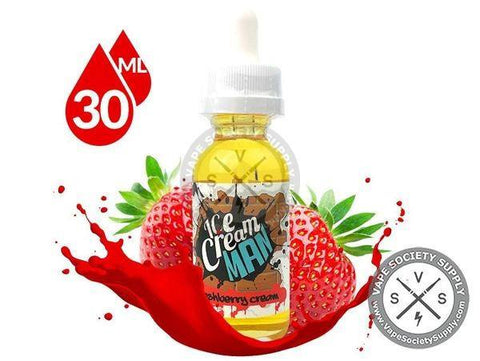 Freshberry Cream by Ice Cream Man 30ml