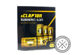 gClapton Gold Plated OVC Replacement Coils by Atom Vapes