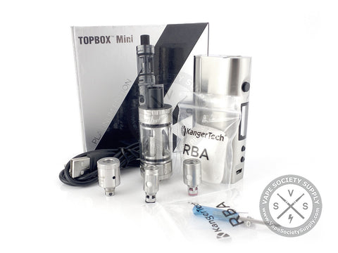 Kanger Topbox Mini Starter Kit Platinum Edition
