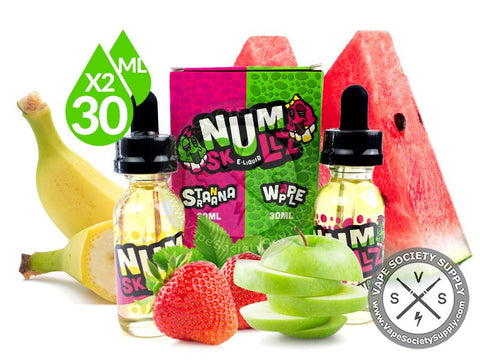 NumSkullz - Stranana and Wapple Ejuice 2 x 30ml