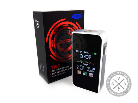Sigelei T150 Touch Screen TC Mod