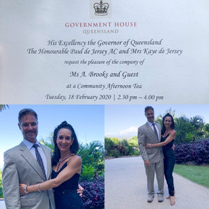Invitation with the Governor of Queensland