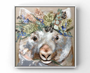 76 X76 Cm - Forget Me Not Wombat Medium Sized Originals