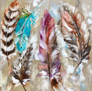 A Feathers Whisper - Art Print Art
