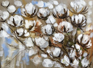 Australian Cotton - Art Print Art Prints