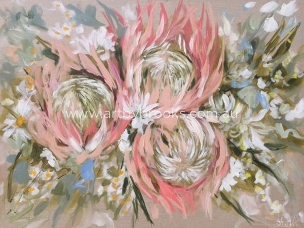 Bridal Bouquet - Art Print Art