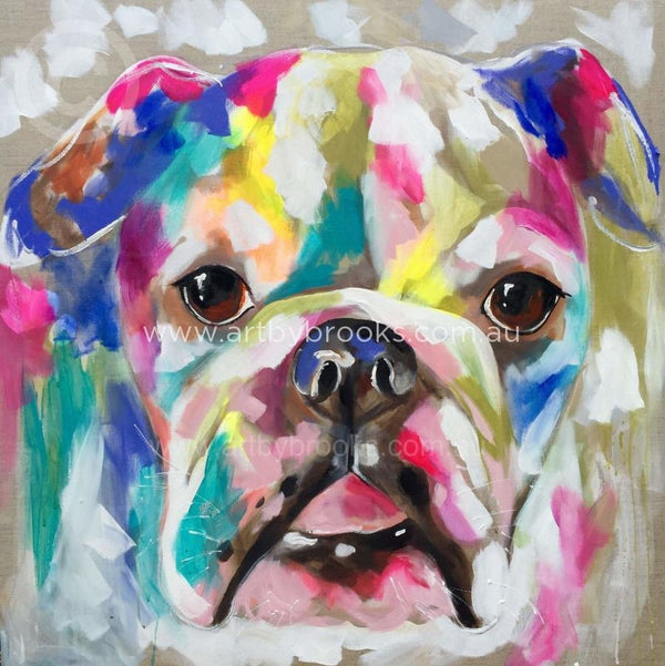 Bulldog Beauty - Art Print Prints
