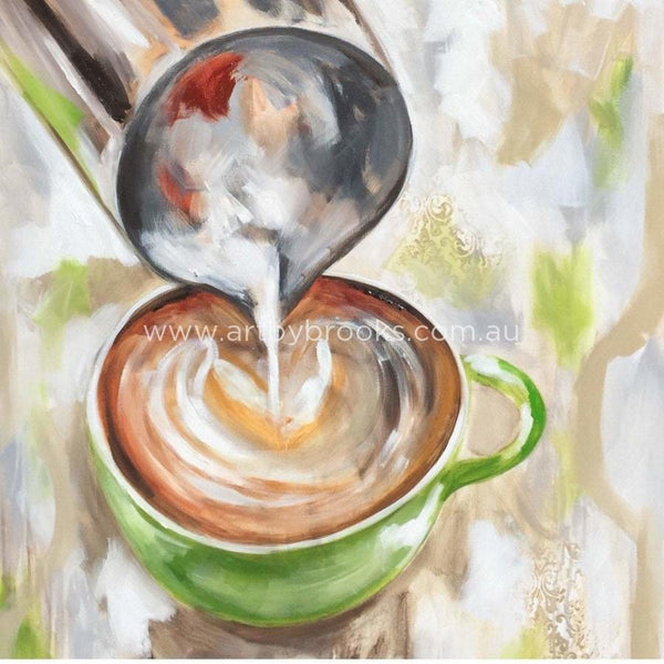 But First Coffee - Art Print 78X78Cm Art