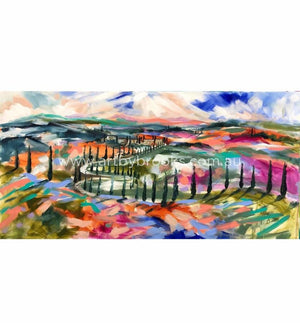 Colours Of Tuscany - Art Print Art