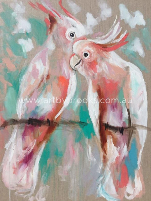 Coral Kisses - Art Print Art