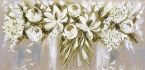 Everlasting White -Art Print Art