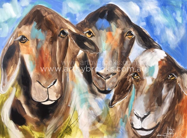 Ewe Beauty Art Print