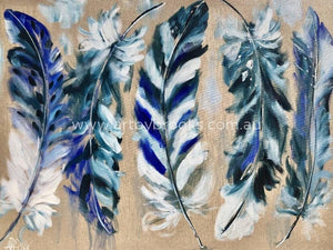 Feather Collection - Art Print Art