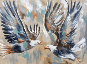 Fly Like An Eagle - Art Print Art