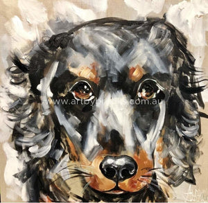 Fraser - Pet Portrait 60X 60Cm Pet
