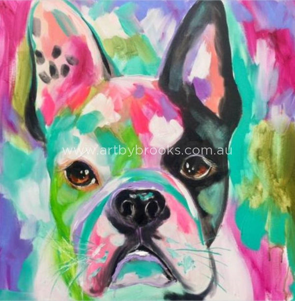 French Bulldog - Art Print Art
