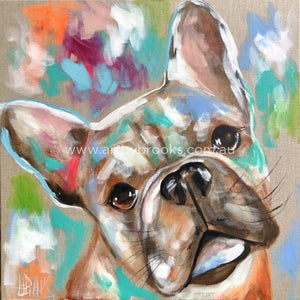 French Bulldog Luna -Art Print Prints