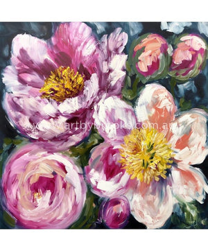 Full Bloom Peony - Art Print Art