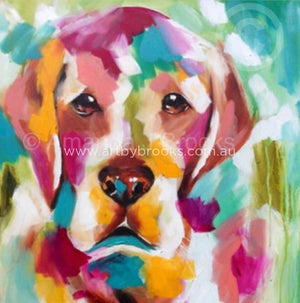 Golden Labrador- Art Print Art Prints