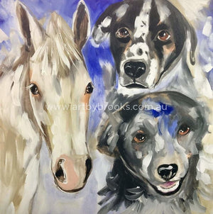 Group Portrait - 76 X76 Cm Pet
