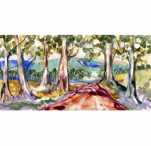Gum Tree Lane - Art Print Art