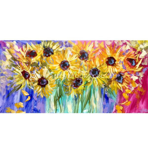 Haloes Of Sunshine - Art Print Art