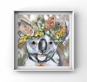 Hope For Rain Koala -Art Print Art